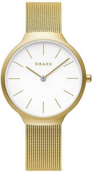 Zegarek Obaku Denmark V240LXGWMG - duże 1