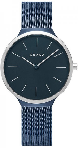 Zegarek damski Obaku Denmark bransoleta V240LXHLML - duże 1