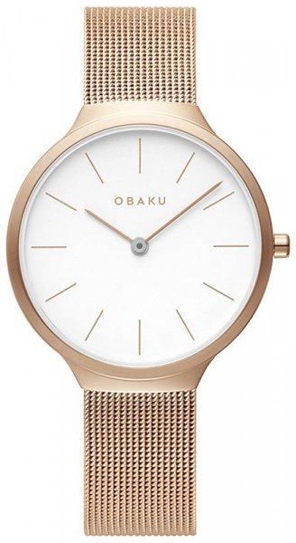 Zegarek damski Obaku Denmark bransoleta V240LXVWMV - duże 1