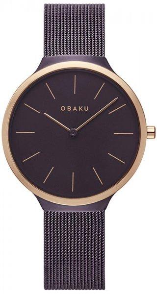 Zegarek damski Obaku Denmark bransoleta V240LXXNMN - duże 1