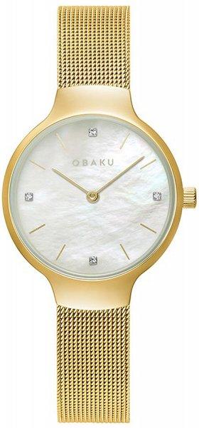 Zegarek Obaku Denmark V241LXGWMG - duże 1