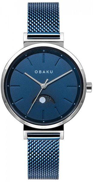 Zegarek damski Obaku Denmark bransoleta V243LMCLML - duże 1
