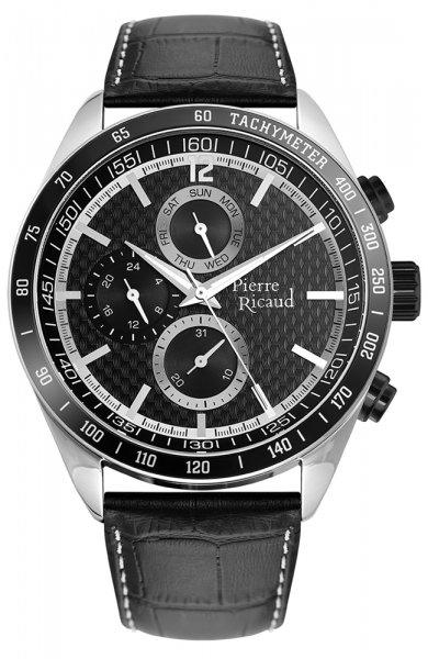 Zegarek męski Pierre Ricaud pasek P97224.Y254QF - duże 1