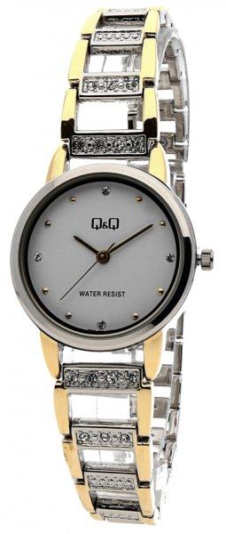 Zegarek damski QQ damskie F635-401 - duże 1