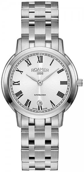 Zegarek damski Roamer superslender 515811 41 22 50 - duże 1