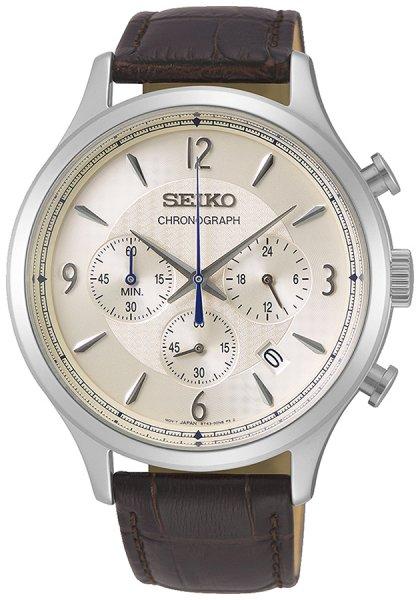Zegarek Seiko SSB341P1 - duże 1