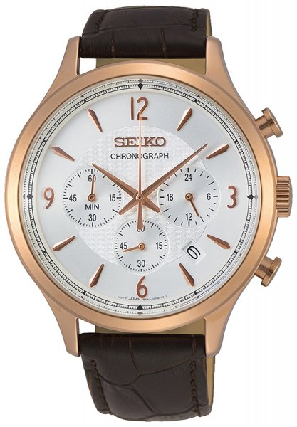 Zegarek Seiko SSB342P1 - duże 1