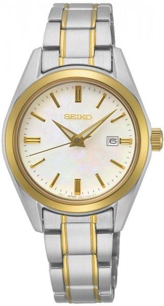 Zegarek damski Seiko classic SUR636P1 - duże 1