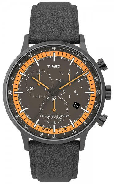 Zegarek męski Timex waterbury TW2U04900 - duże 1