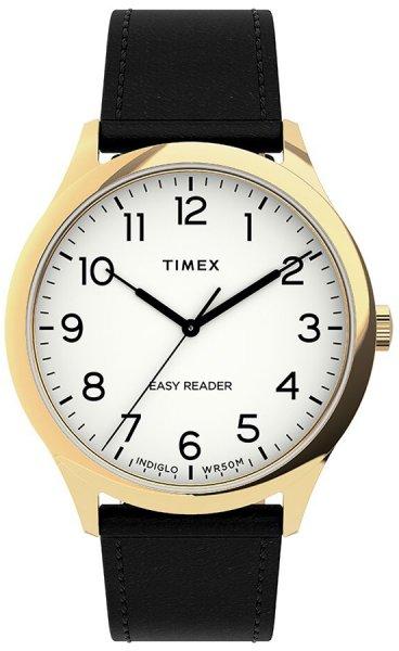 Zegarek męski Timex easy reader TW2U22200 - duże 1