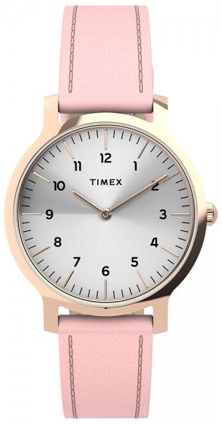 Zegarek damski Timex norway TW2U22700 - duże 1