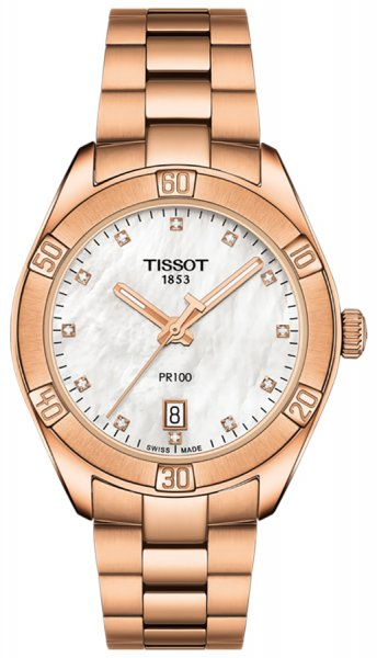 Zegarek Tissot T101.910.33.116.00 - duże 1