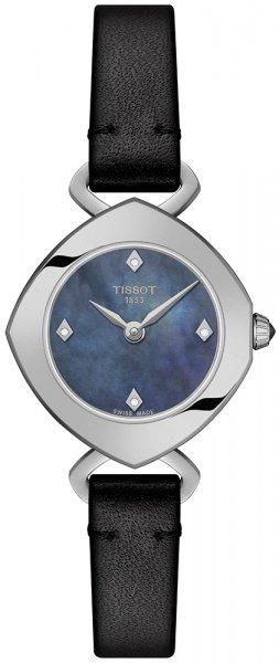 Zegarek Tissot FEMINI-T DIAMONDS - damski  - duże 3