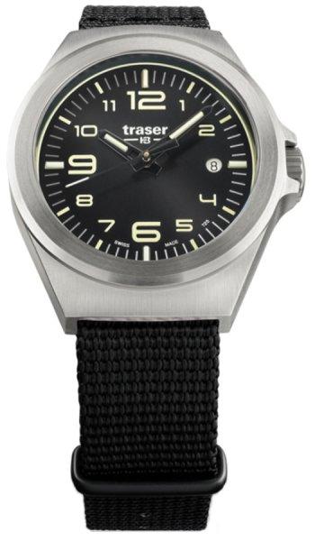 Traser TS-108637 P59 Classic P59 Essential S Black