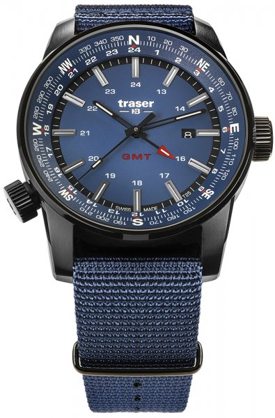 Traser TS-109034 P68 Pathfinder GMT P68 Pathfinder GMT Blue