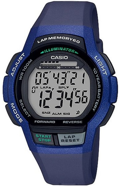 Zegarek Casio WS-1000H-2AVEF - duże 1