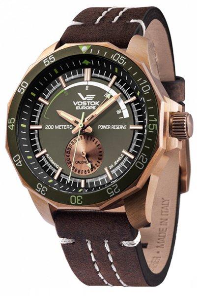 Zegarek Vostok Europe NE57-225O565 - duże 1