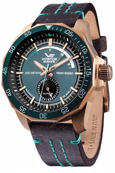 Zegarek Vostok Europe NE57-225O566 - duże 1
