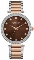 Zegarek damski Caravelle bransoleta 45L152 - duże 1