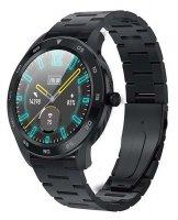 5903246287325 Garett Smartbandy - Opaski sportowe Smartwatch Garett GT22S RT czarny stalowy - duże 1