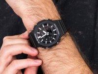czarny Zegarek Casio G-Shock GA-2100-1AER - duże 4