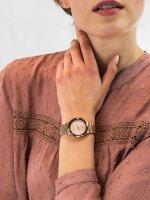 Zegarek damski Anne Klein bransoleta AK-3506RGRG - duże 3