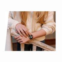 kwarcowy Zegarek damski Garett Damskie Smartwatch Garett Women Nicole RT srebrny 5903246287172 - duże 6