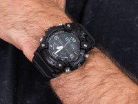 sportowy smartwatch czarny Casio G-SHOCK Master of G GG-B100-1BER Mudmaster Carbon Core Black Out - duże 4