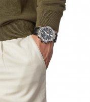 sportowy smartwatch srebrny Casio G-SHOCK G-STEEL GST-B100-1AER G-STEEL BLUETOOTH SYNC - duże 2