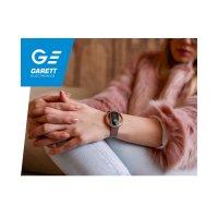 sportowy Zegarek srebrny Garett Damskie 5903246287189 Smartwatch Garett Women Nicole RT różowy stalowy - duże 9