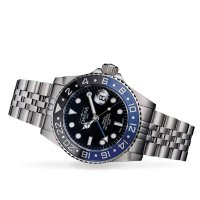 srebrny Zegarek Davosa Diving 161.571.04 - duże 7