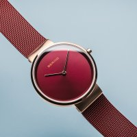 Zegarek damski Bering classic 14531-363 - duże 4