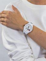 Zegarek biały klasyczny Fila Filastyle 38-129-204 pasek - duże 3