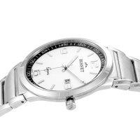 Zegarek męski Bisset klasyczne BSDC86SMWX03BX - duże 2