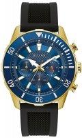 Zegarek męski Bulova chronograph c 98A244 - duże 1
