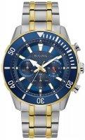 Zegarek męski Bulova chronograph c 98A246 - duże 1