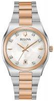 Zegarek damski Bulova diamond 98P199 - duże 1
