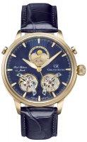 Zegarek męski Carl von Zeyten durbach CVZ0060GBL - duże 1
