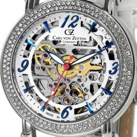 Zegarek damski Carl von Zeyten wolfach CVZ0061WH - duże 2