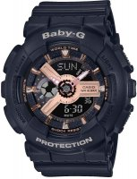 Zegarek damski Casio baby-g BA-110RG-1AER - duże 1