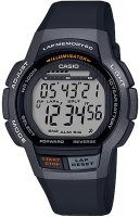 Zegarek unisex Casio klasyczne WS-1000H-1AVEF - duże 1