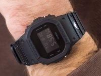 Zegarek czarny sportowy Casio G-SHOCK Original DW-5600BBVCF-1ER pasek - duże 4