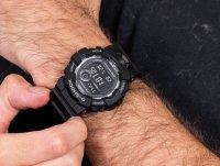 Zegarek czarny sportowy Casio G-SHOCK Original GBD-800-1BER pasek - duże 4