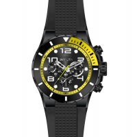 Zegarek czarny sportowy Invicta Pro Diver 18741 pasek - duże 2