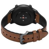 Zegarek czarny sportowy Timex Metropolitan TW5M43100 pasek - duże 5