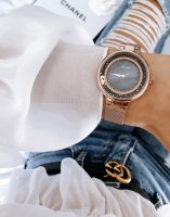 Zegarek damski Adriatica bransoleta A3720.914MQZ - duże 3