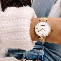 Zegarek damski Adriatica bransoleta A3737.119ZQ - duże 2