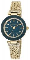 Zegarek damski Anne Klein bransoleta AK-1906NVGB - duże 1