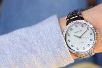 Zegarek damski Anne Klein bransoleta AK-2781SVSV - duże 2
