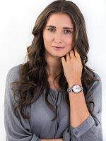 Zegarek damski Anne Klein bransoleta AK-3324GYLE - duże 2